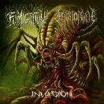 Fumigation / The Path To R'lyeh — Invasion (Split) (2017)