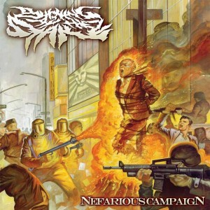 Burning At The Stake - Nefarious Campaign (2011)