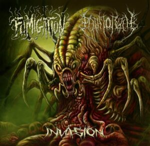 Fumigation / The Path To R'lyeh — Invasion (Split) (2017)