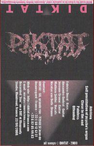 Diktat — Diktat (2000)