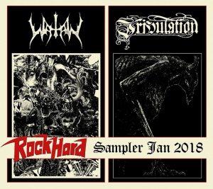 Watain & Tribulation — Rock Hard (Promo Cd) (2017)